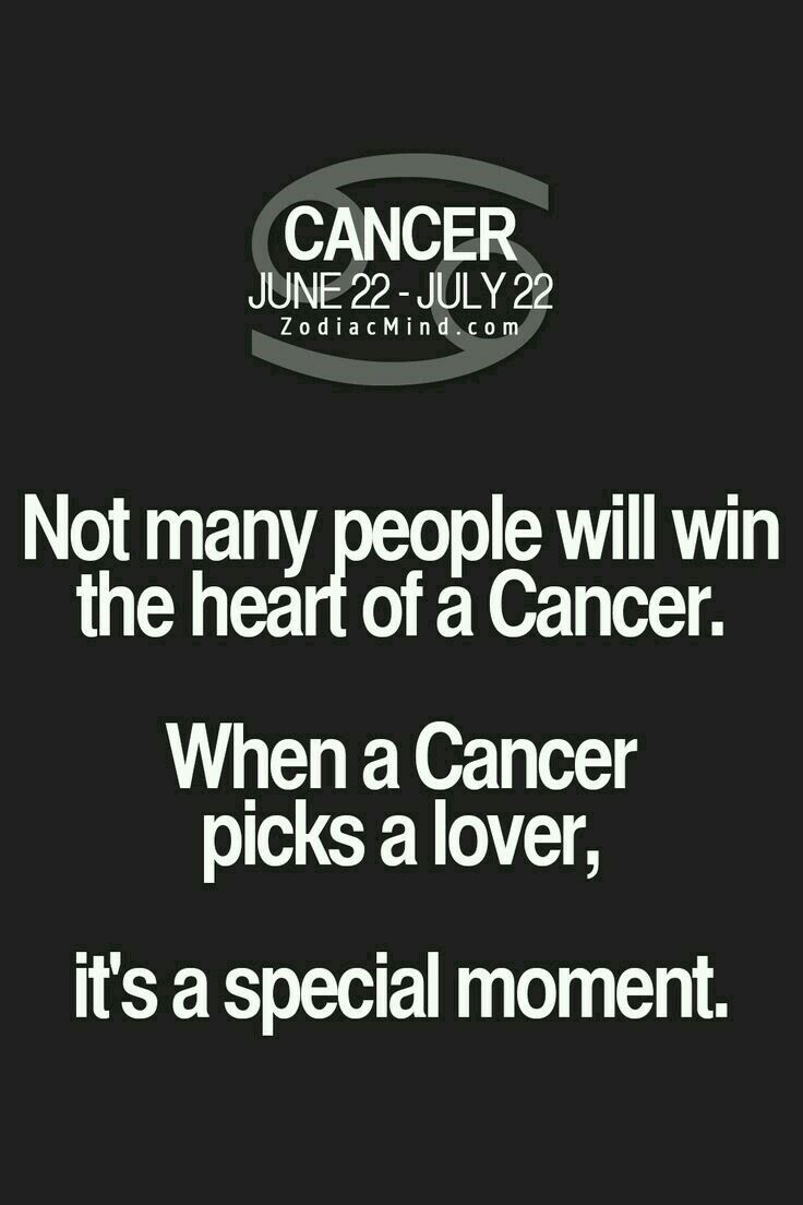 What do Cancers love?