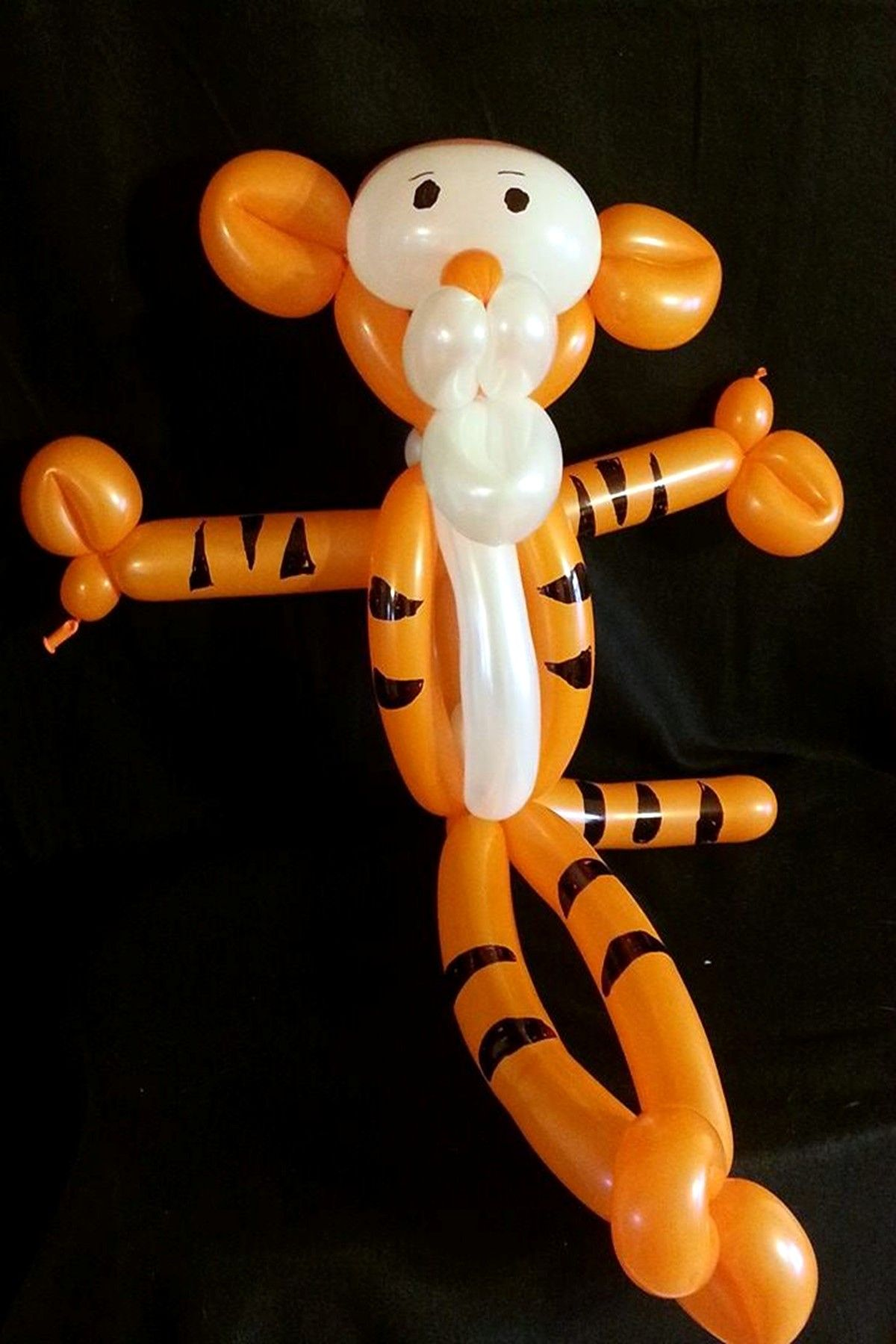 Tigger Parody Balloon Twisting by Clowning Around Asheville