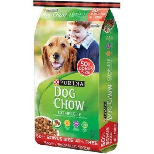 Purina Dog Chow Complete Dry Food Kibble 50 Lb High Quality Protein Bulk Bag Purina Dog Chow Dog Food Coupons Dog Training Near Me