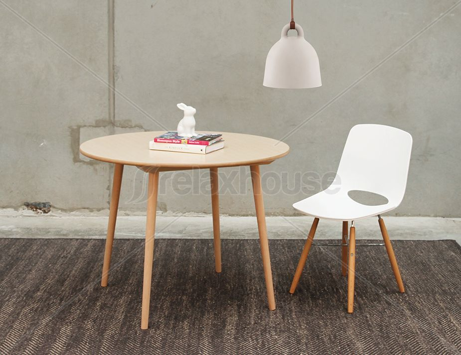 Small Round Designer Original Ironica Dining Table 100cm Four Person