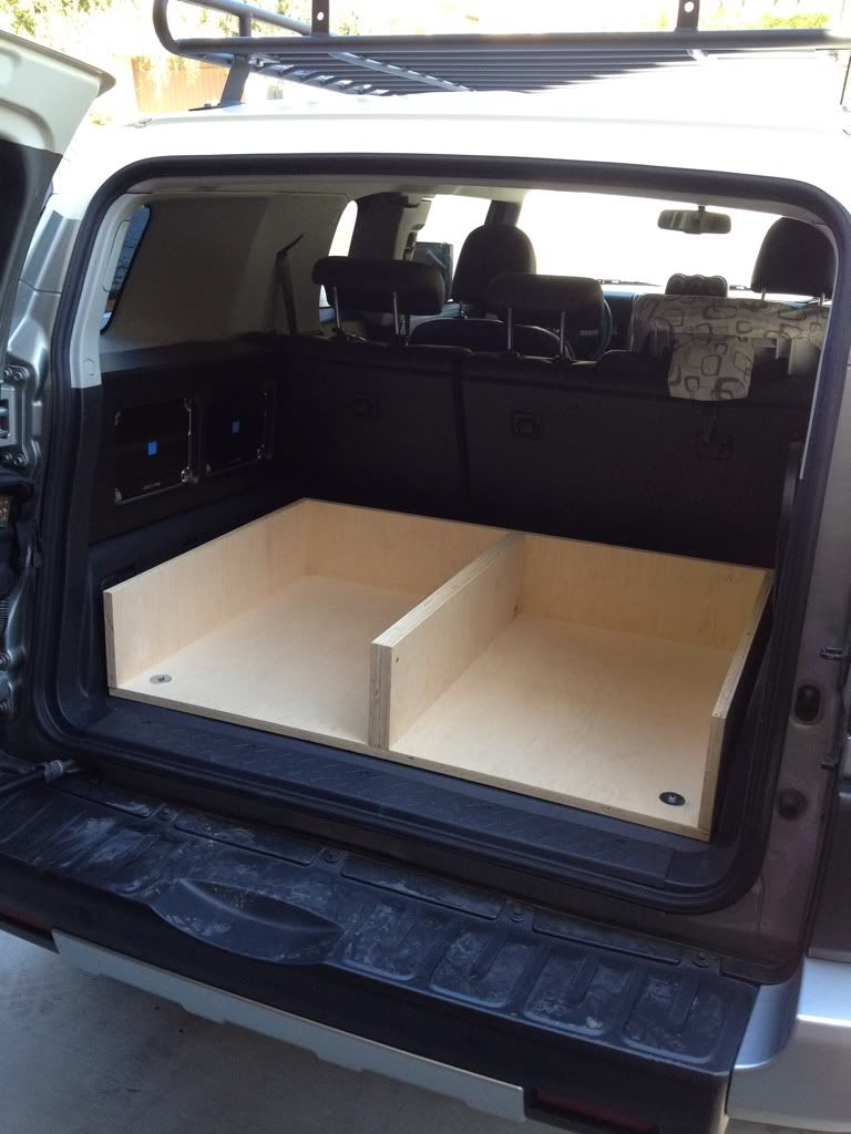Rear Cargo Drawer Build Toyota Fj Cruiser Forum Complete How To Trailer Wiring