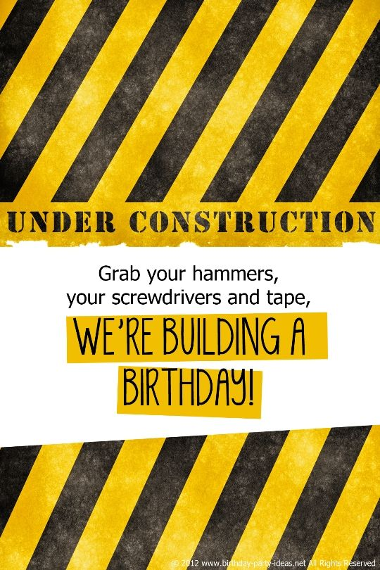 Construction Birthday Party Birthday Party Ideas Construction Birthday Construction Birthday Parties Birthday Party Planning