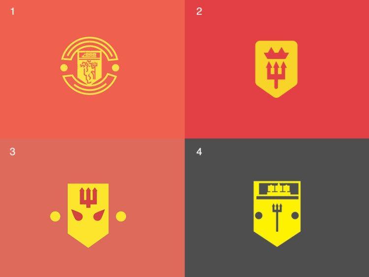 Minimal Manchester United Logos Manchester United Logo Soccer Artwork Pop Art Design