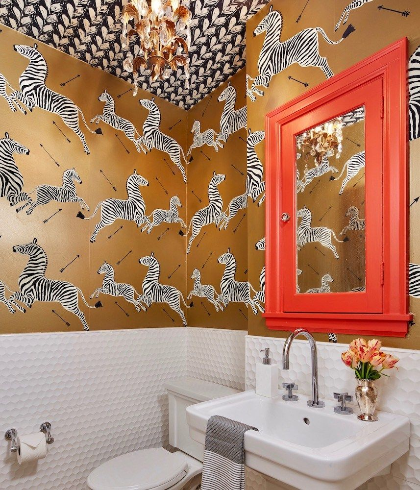 Powder Rooms That Pack A Punch (With images) House and
