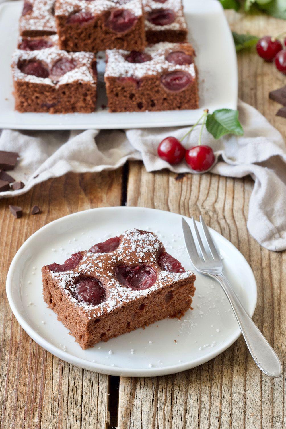 Chocolate Cherry Cake – Recipe – Sweets & Lifestyle®