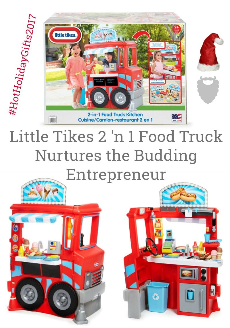 Little Tikes 2 \'n 1 Food Truck Nurtures the Budding Entrepreneur   Toy
