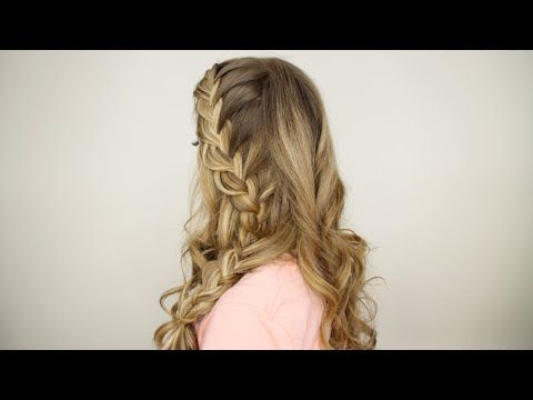 Half Up Side French Braid Youtube Hair Styles Plaits French