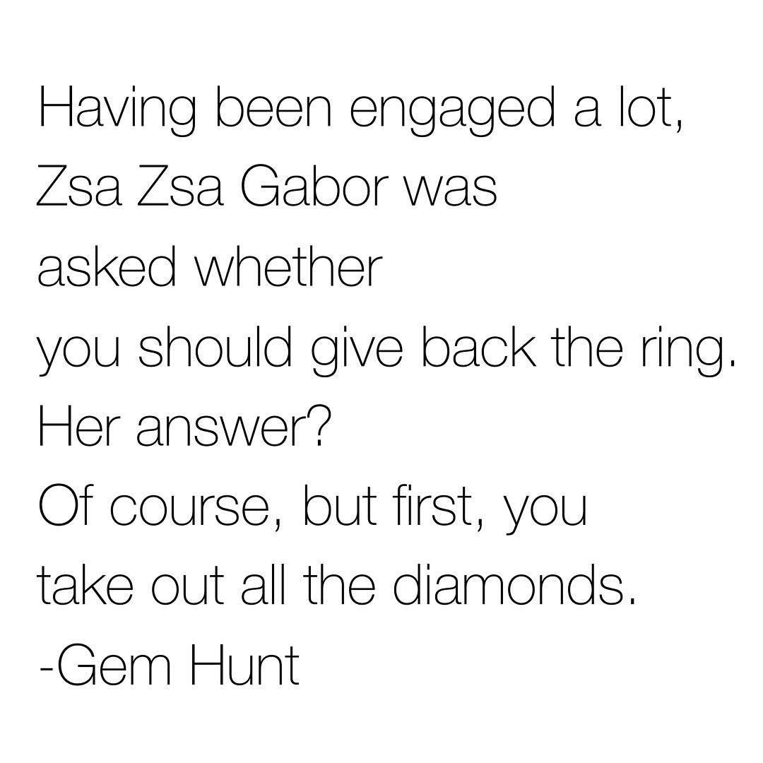 jewelry quote, diamonds, zsa zsa gabor