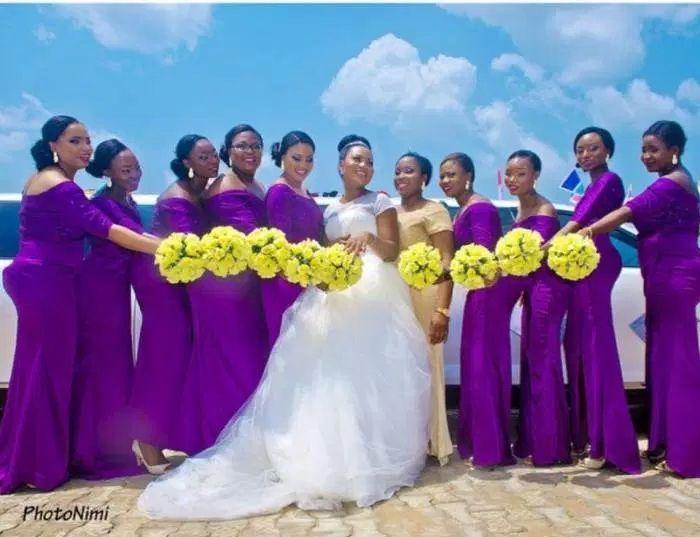 Click To Nigerian Wedding African Bridesmaid Dresses Mermaid Y Off The