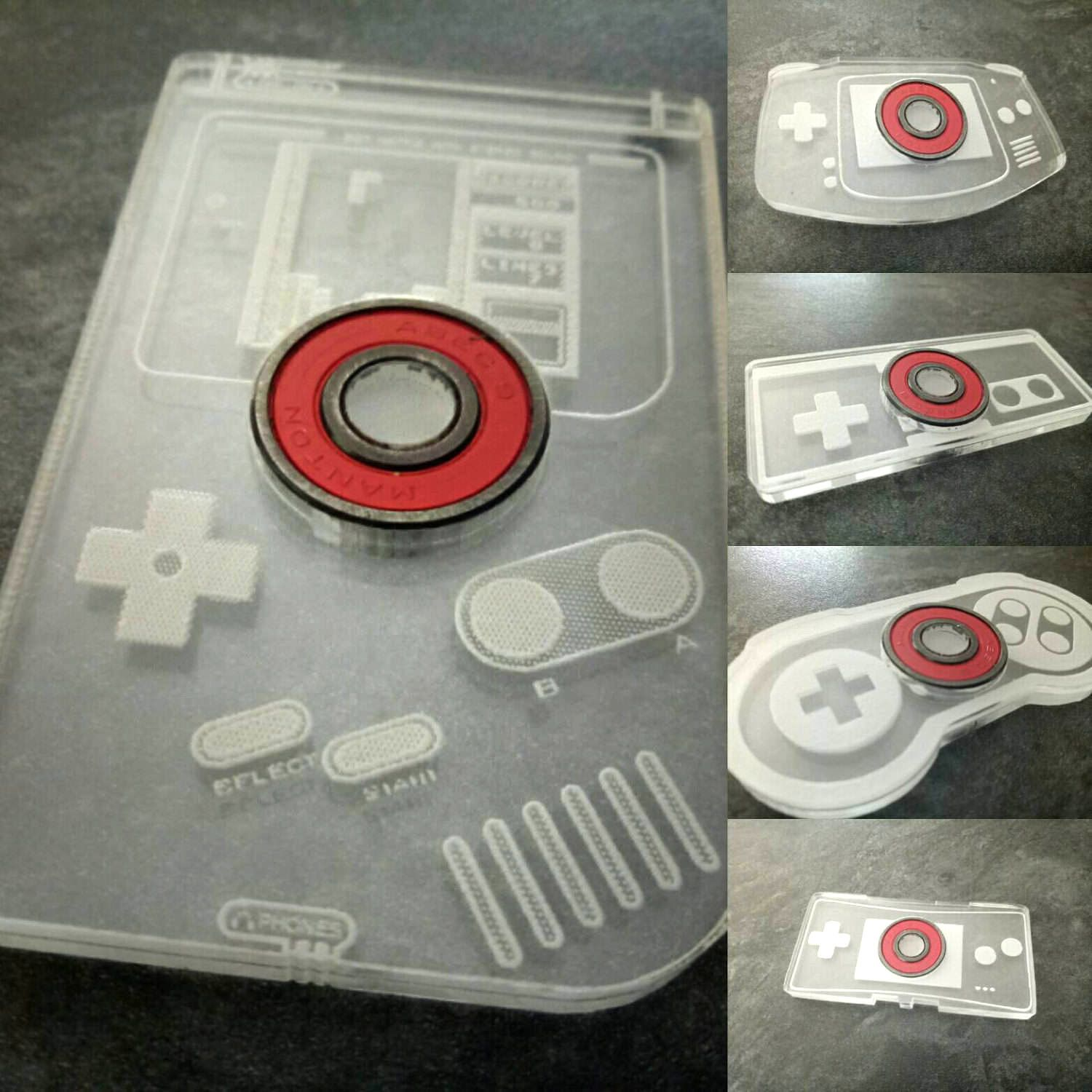 Retro Gaming Fidget Spinners | kawaii stuff for your house