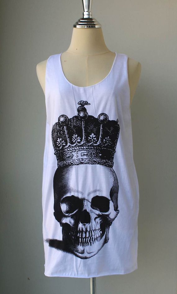 010b40b91183f0 Skull crown. Etsy.