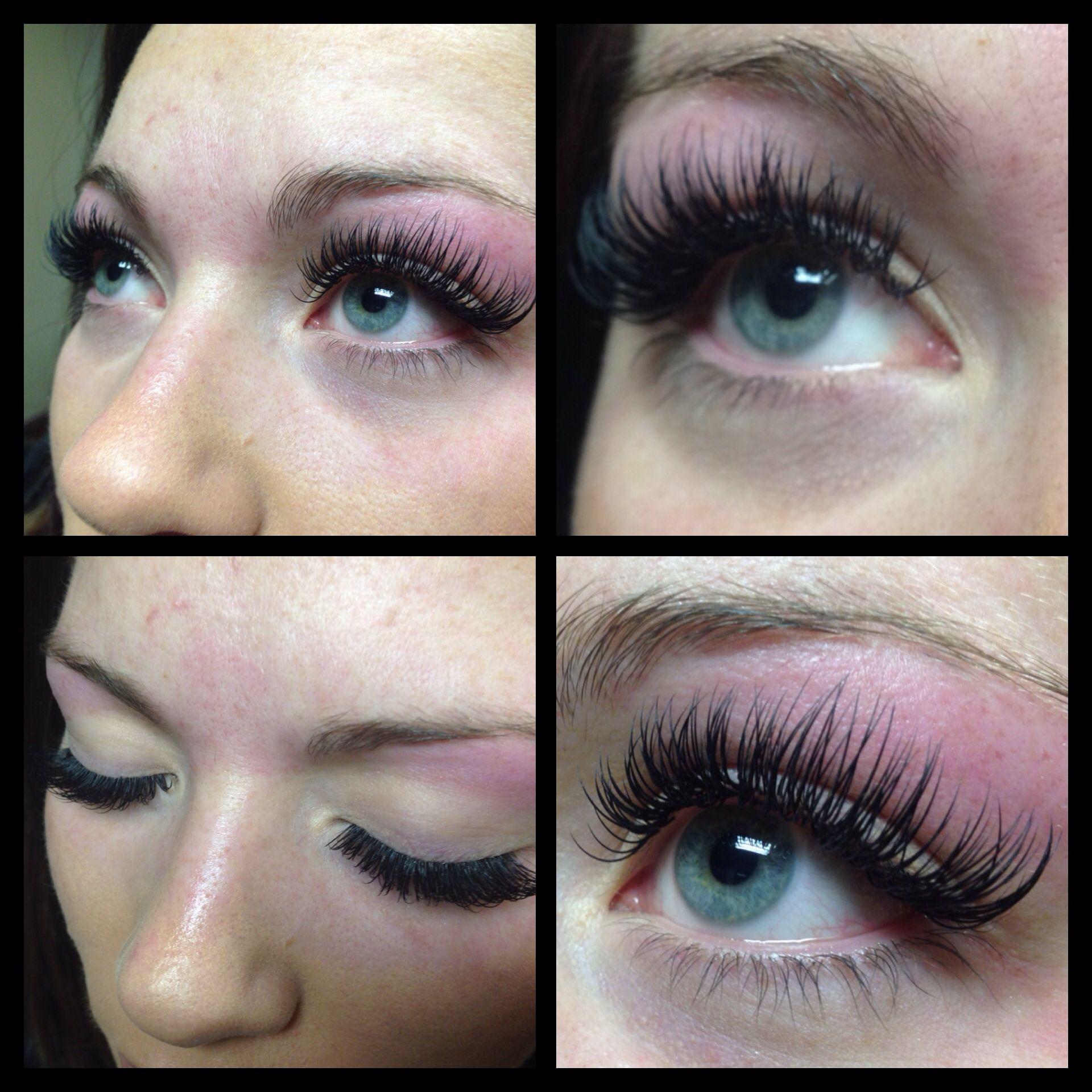 Eye lash extension and an eyebrows wax Eyelash