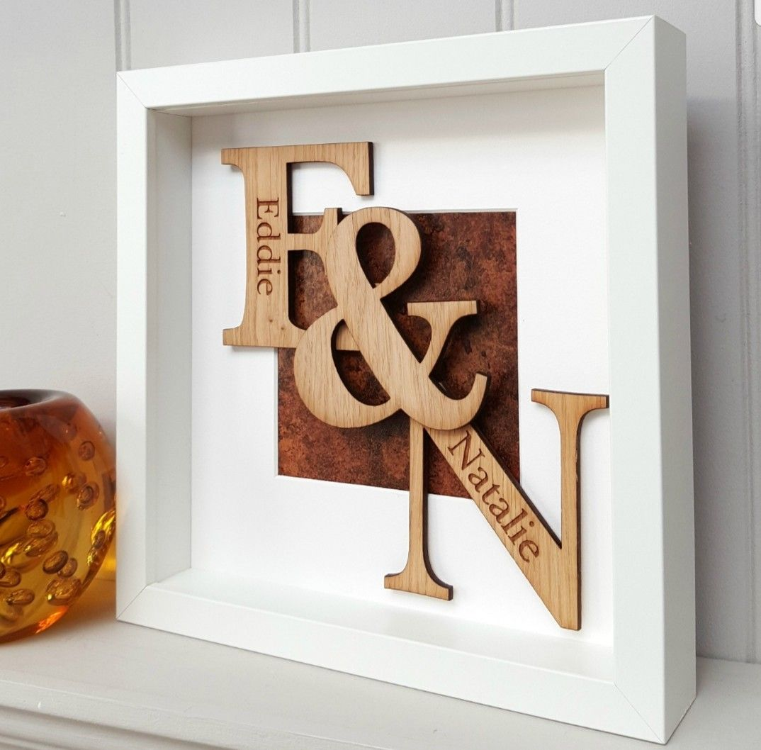 Look no further for your 8th wedding anniversary gift! Our