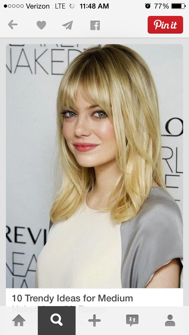 Hair Style Layers With Bangs Low Maintenance Hairstyles