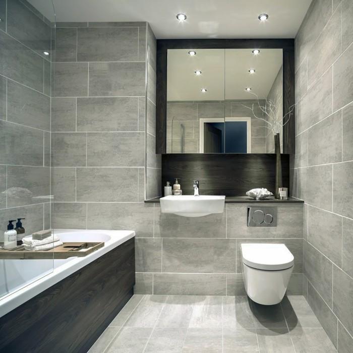 Indiana Grey Porcelain Wall Floor Tiles In 2020 Grey Bathroom Floor Grey Bathroom Tiles Bathroom Interior Design