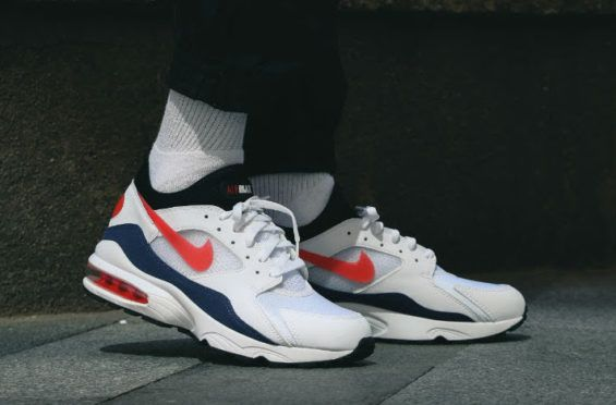 7bac588e24f9 On-Feet Look At The Nike Air Max 93 OG Flame Red Nike is constantly