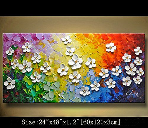Modern Canvas Art Wall Decor Abstract Oil Painting Contem Https Www Amazon Com Dp B06xw Texture Painting On Canvas Abstract Art Painting Abstract Painting
