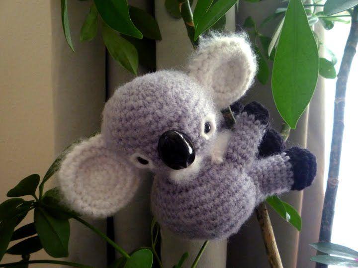 Free Amigurumi Koala Pattern : Meet koko the baby amigurumi koala free pattern included