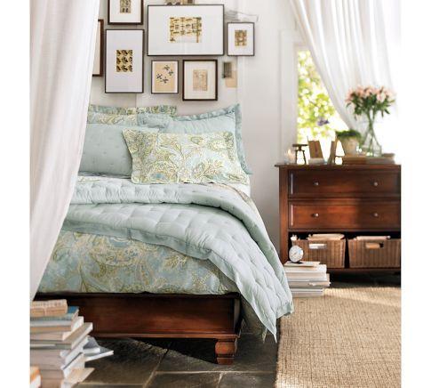 Sienna Paisley Duvet Cover Sham Pottery Barn Master Bedroom Pinterest Pottery White