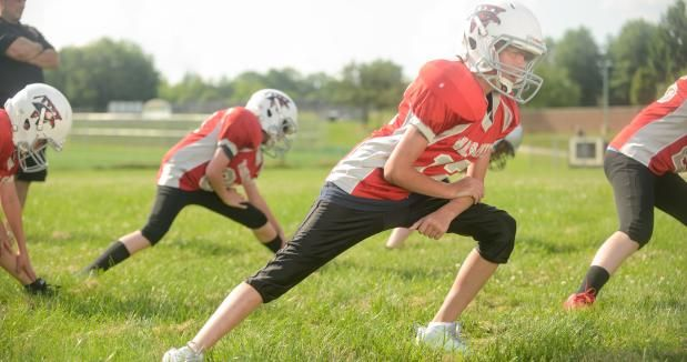 When Should Your Child Start Weight Training Youth Football Usa Football Football S Nat Youth Football Drills Youth Football Football Workouts