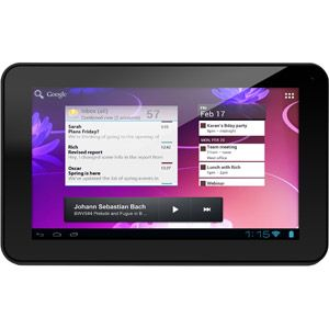 """Ematic Genesis Series with WiFi 7"""" Touchscreen Tablet PC Featuring Android 4.0 (Ice Cream Sandwich) Operating System"""