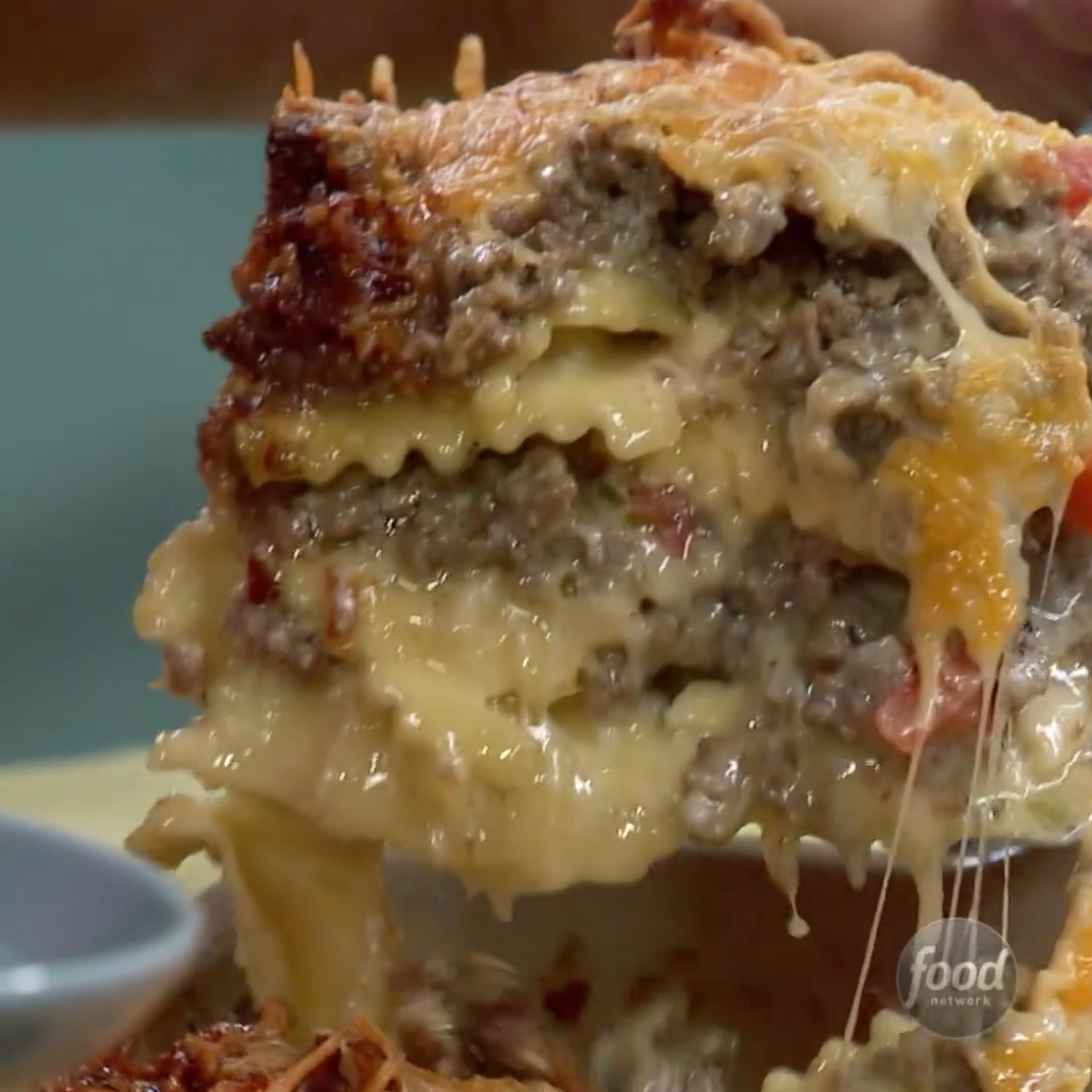 How to Make Sunny Anderson's Bacon Cheeseburger Ca