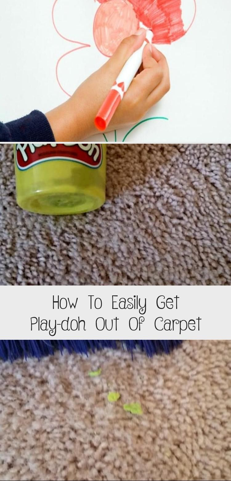 How To Easily Get Play Doh Out Of In 2020 How To Clean Carpet Getting Played Play Doh
