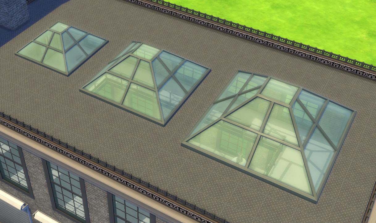 Skylights Brazen Lotus Skylight Sims Sims 4