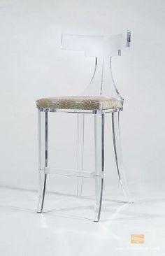 Perspex Bar Stool Lucite Furniture, Glass Furniture, Furniture Decor,  Furniture Design, Acrylic
