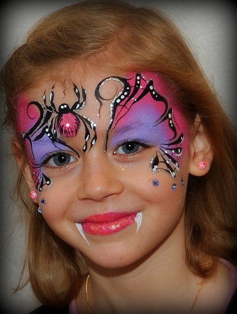 Halloween Gesichter Kinderschminken.Galerie Sparkling Faces Kinderschminken Farbenverkauf Kurse Face Painting Halloween Spider Face Painting Face Painting