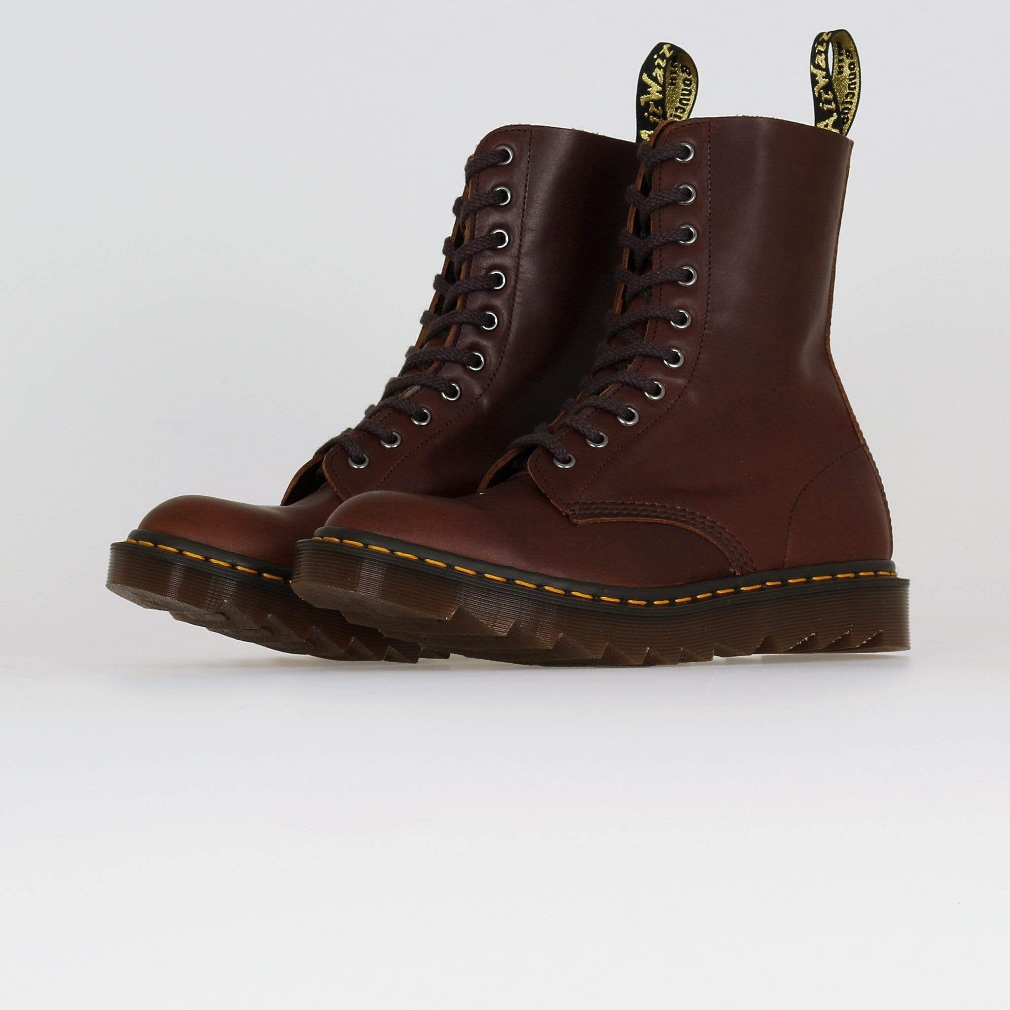 Dr Martens Made In England 1490 Ripple Boots Acorn