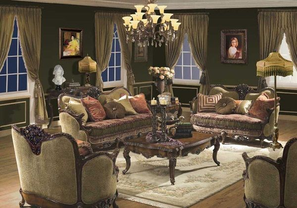 idee-salon-baroque-4 | Boudoir | Pinterest | Salon design, Salons ...