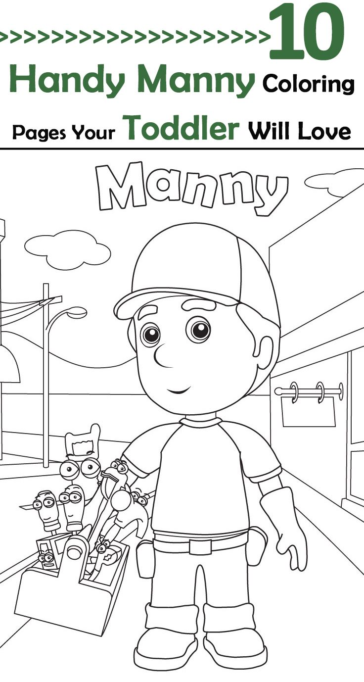 Top 25 Free Printable Handy Manny Coloring Pages Online | Coloring ...