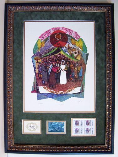 Central Galleries Custom Framing Amram Ebgi Judaic Art Framing