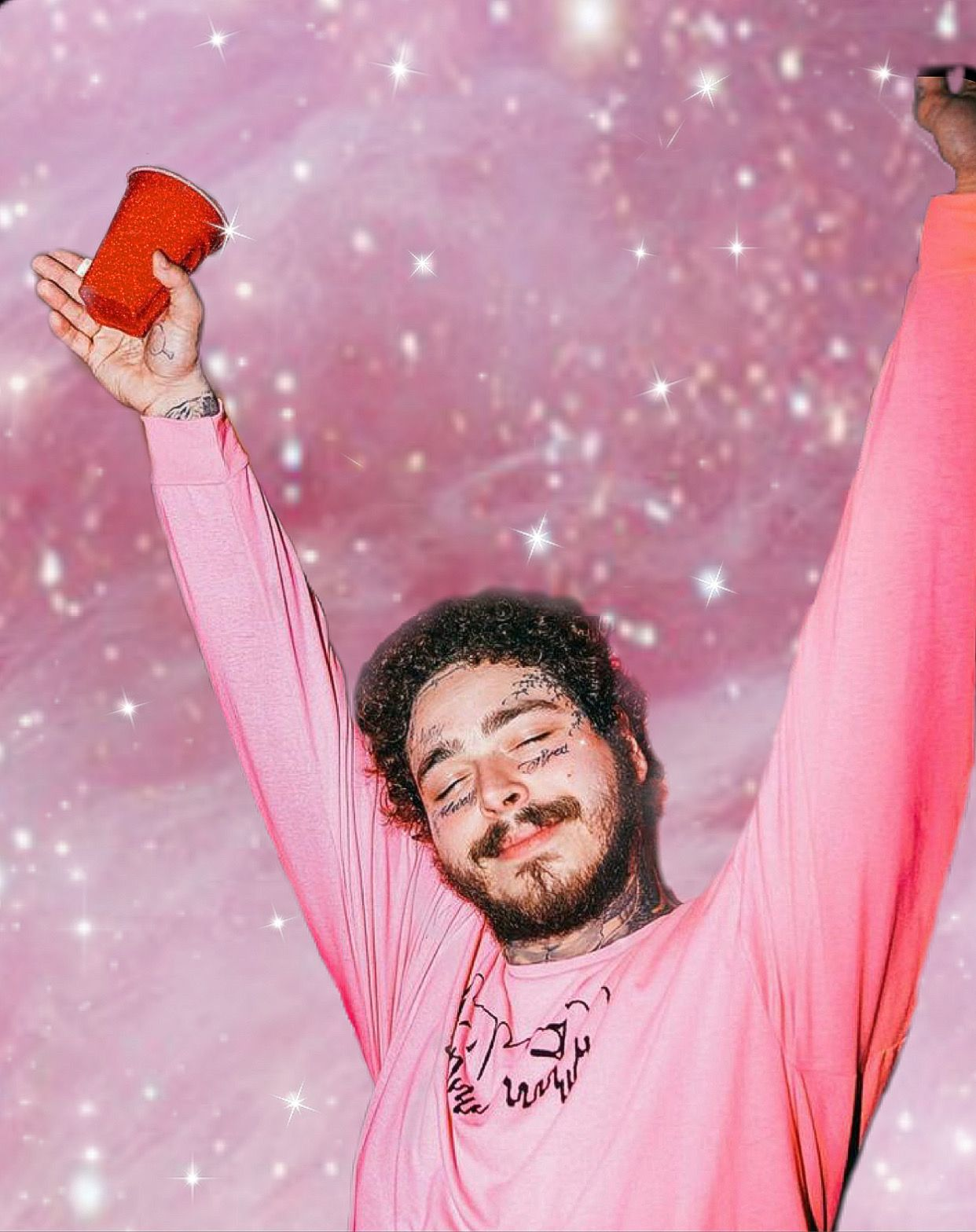 Post Malone Iphone Wallpaper Post Malone Wallpaper Art Collage Wall Photo Wall Collage