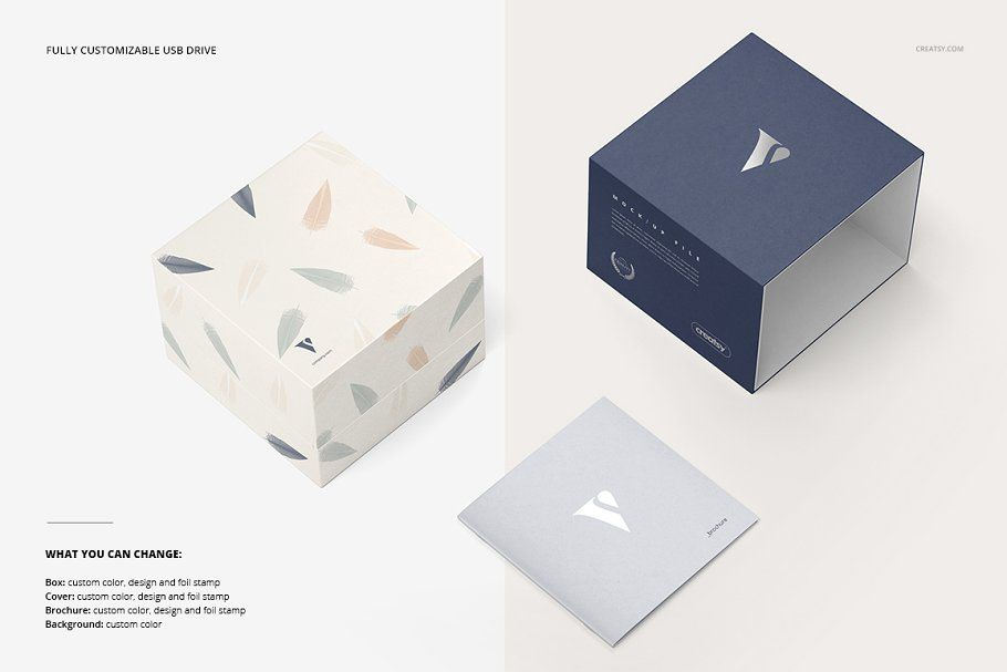 Download Slide Gift Box Mockup Set Box Mockup Business Cards Creative Box Packaging Design