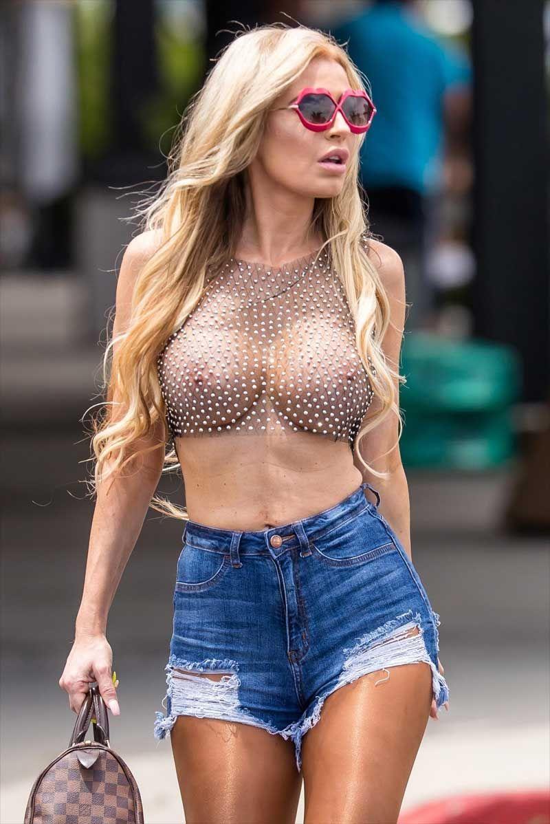 Tight Shirts No Bras