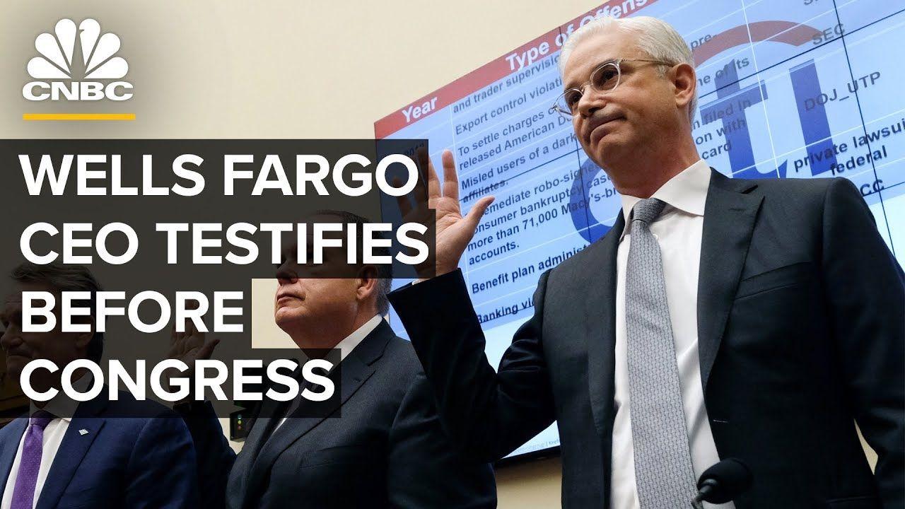 Wells Fargo CEO Charles Scharf testifies before House on