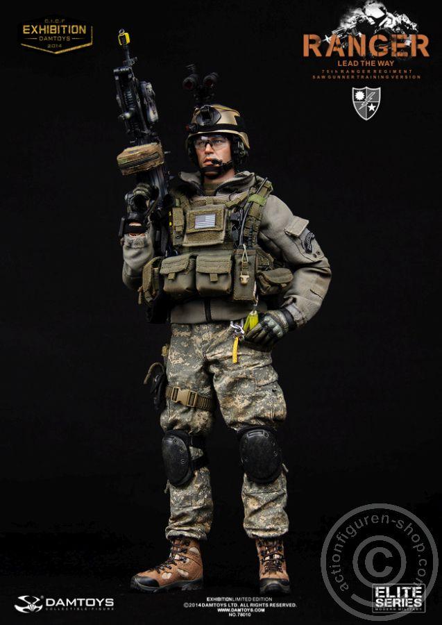 www.actionfiguren-shop.com | 75th Ranger Regiment SAW Gunner - C.I.C.F. Exclusive | Online 1:6 Figuren und Zubehör kaufen