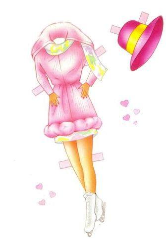 COLECCIÓN DE RECORTARLES PARA IMPRIMIR Y COLOREAR | Barbie recortar ...