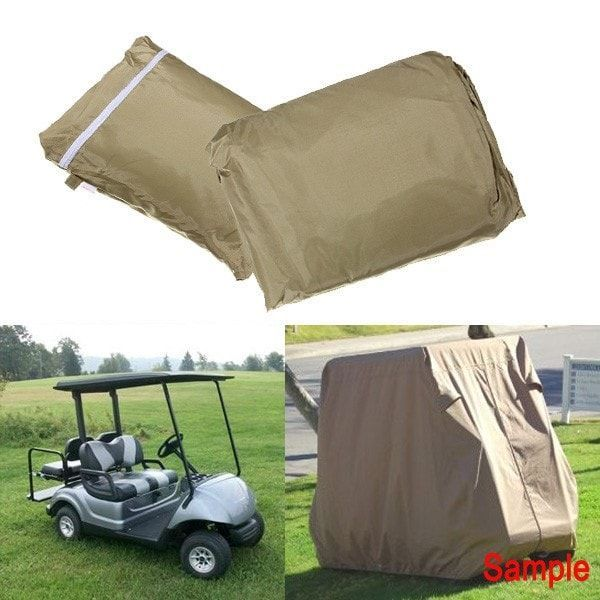 4 Penger Cover Taupe Protect Against Rain Sun for Golf Cart ... on ez go logo drawing, ez go seat covers, ez go rear seats, ez golf cart colors, ez go txt, ez go winter cover, ez go marathon, ez go custom carts, ez go models by year, ez go cart accessories, ez go lift kit, ez go seat back design, go cart replacement seats, used ez go back seats, ez go rxv 2010, ez golf cart seat covers,