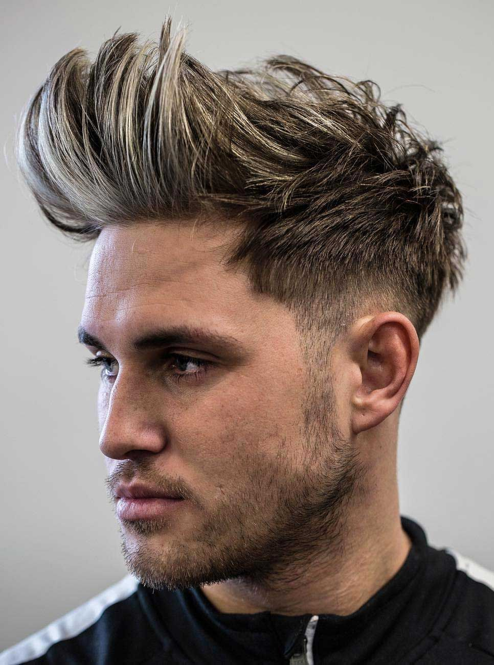 Faux Hawk Hairstyle Keep It Even More Exciting Faux Hawk Hairstyles Mens Hairstyles Haircuts For Men