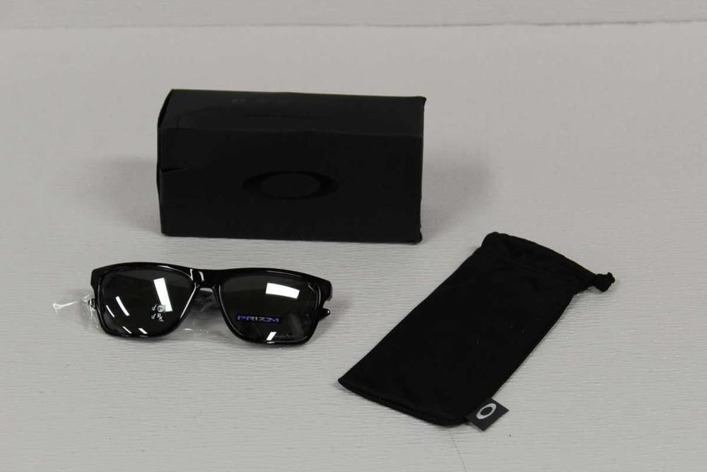 60527cb9e9353 eBay  Sponsored Oakley Men s Sunglasses Polarized Holston Polished Black Prizm  Black OO9334-14