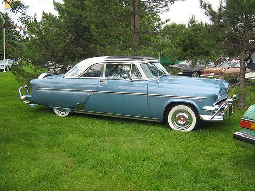 1954 Ford Crestline 2 Door Hardtop Glass Top 1954 Ford Crestline Hot Cars