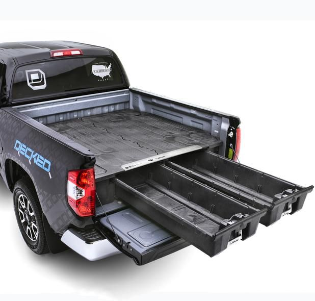 Toyota Tundra Truck Bed Storage Truck Bed Decked Truck Bed