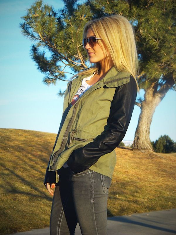 Jacket love!  Vitamin D | Stylin' Mommies