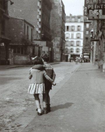 Enfants de Dos, pour Edouard Boubat.