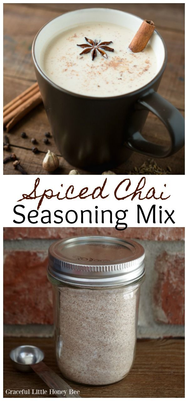 Homemade Spiced Chai Seasoning Mix