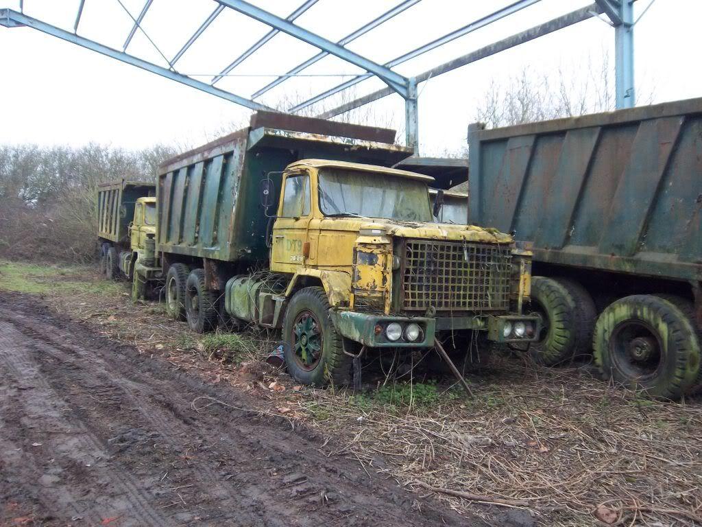 Scammells Abandoned cars, Classic trucks, Abandoned
