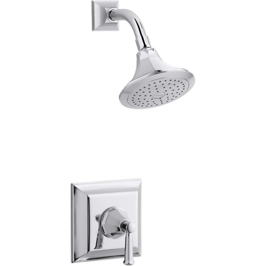 Kohler Memoirs Polished Chrome 1 Handle Shower Faucet At Lowes Com